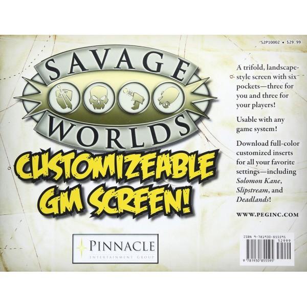 Savage Worlds - Customizable GM Screen
