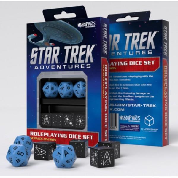 Star Trek Adventures - RPG - Blue Sciences Division Dice Set