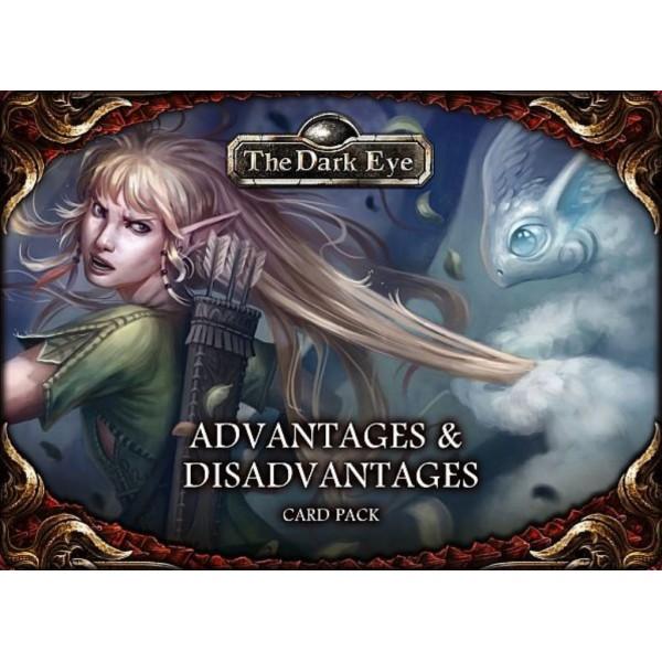 The Dark Eye - Fantasy RPG - Advantages & Disadvantages Card Pack