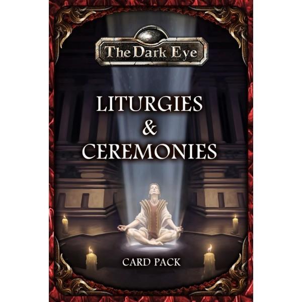 The Dark Eye - Fantasy RPG - Liturgies and Ceremonies Card Pack