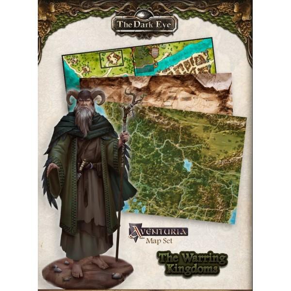 The Dark Eye - Fantasy RPG - The Warring Kingdoms Map Set