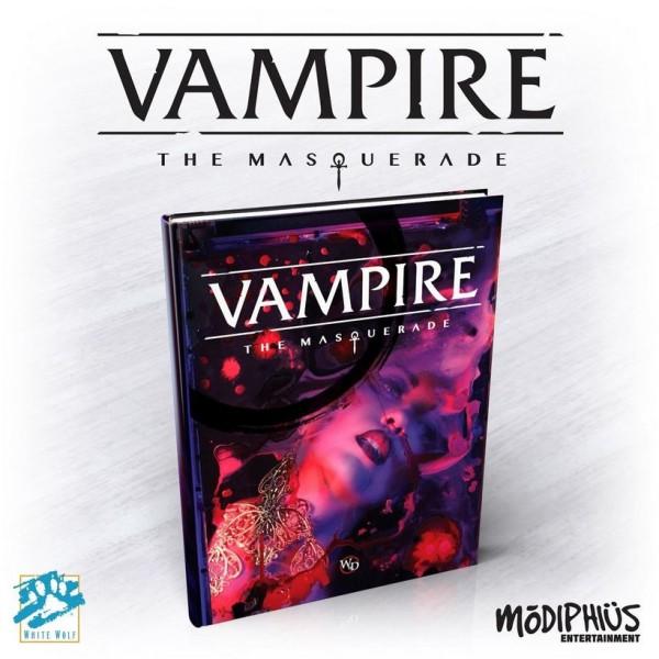 Vampire The Masquerade RPG - 5th Edition Core Rulebook