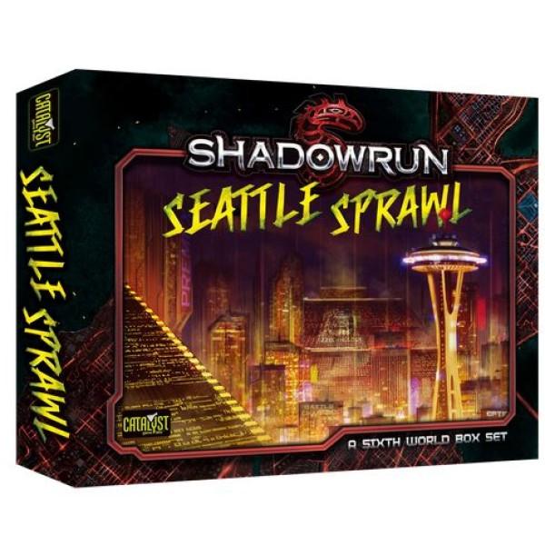 Shadowrun - 5th Edition - Seattle Sprawl Box Set