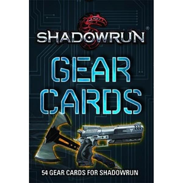 Shadowrun - 5th Edition - Gear Cards