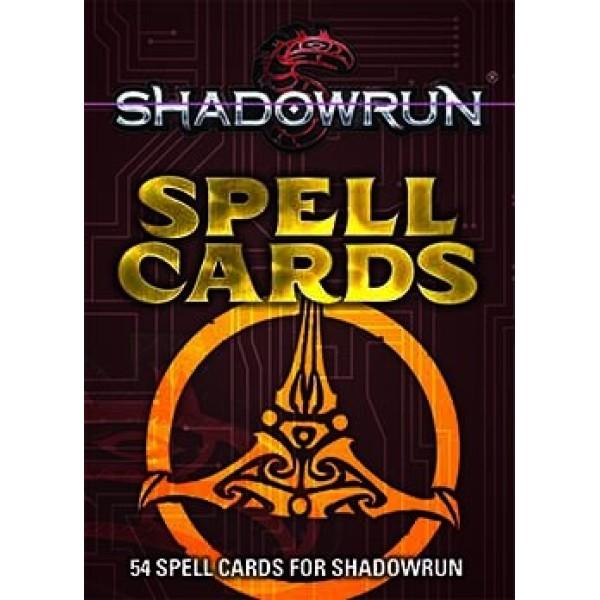 Shadowrun - 5th Edition - Spell Cards