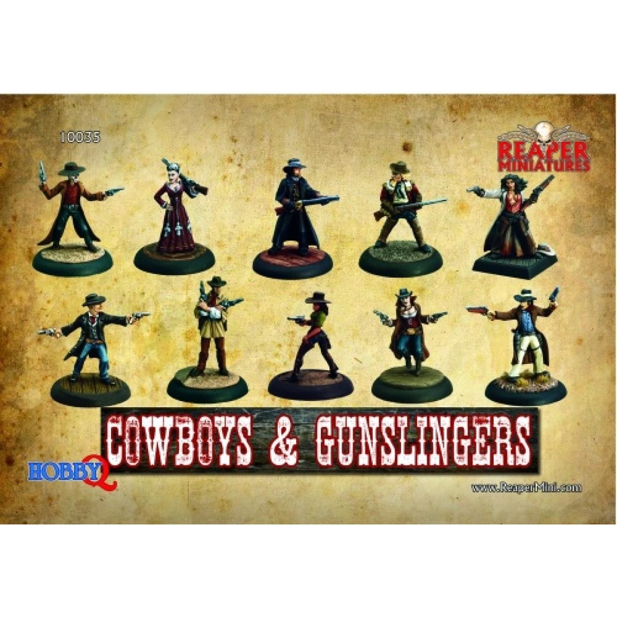 Reaper Miniatures - Boxed Sets: Cowboys & Gunslingers