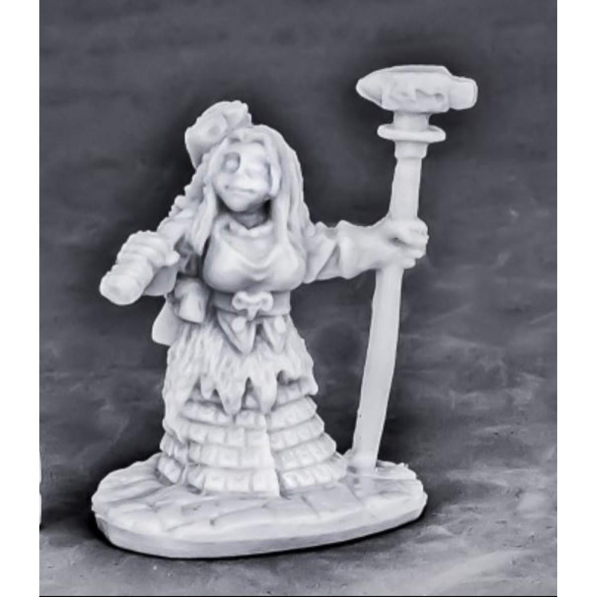 REAPER MINIATURES BONES 77571 Dwarf Forge Priestess