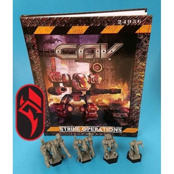 CAV - Strike Operations Hardcover Rulebook - Rach Bundle (limited Time)