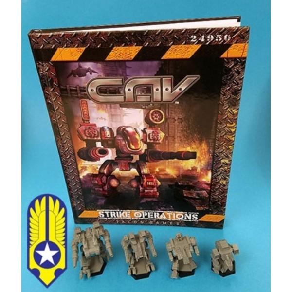 CAV - Strike Operations Hardcover Rulebook - Terran Bundle  (limited Time)