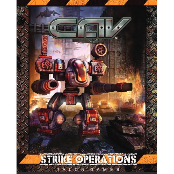 CAV - Strike Operations - Hardcover Rulebook