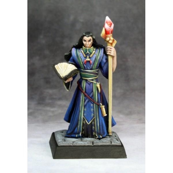 Reaper - Pathfinder Miniatures: Khalib, Runelord Apprentice