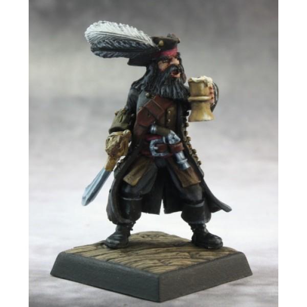 Reaper - Pathfinder Miniatures: Captain Kerdak Bonefist