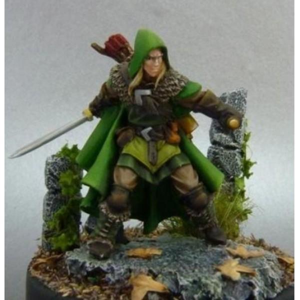 Red Box Games - Elves - Yvander HalfBlood, MarchWarden Scout