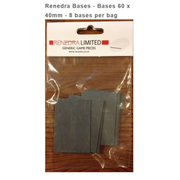 Renedra Bases - 60mm x 40mm (8)