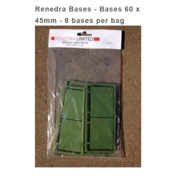 Renedra Bases - 60mm x 45mm (8)