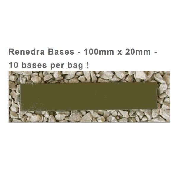 Renedra Bases - 100mm x 20mm (10)