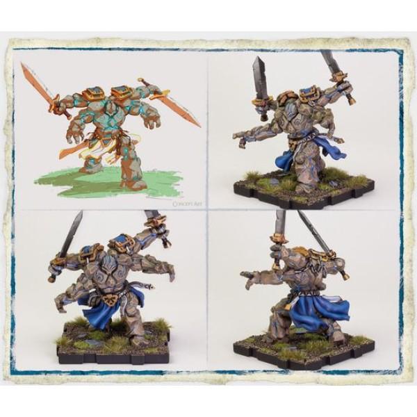 Runewars Miniatures Game - Rune Golems Expansion Pack