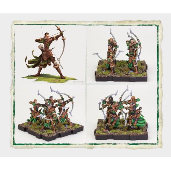 Runewars Miniatures - Latari Elves Deepwood Archers Unit Expansion