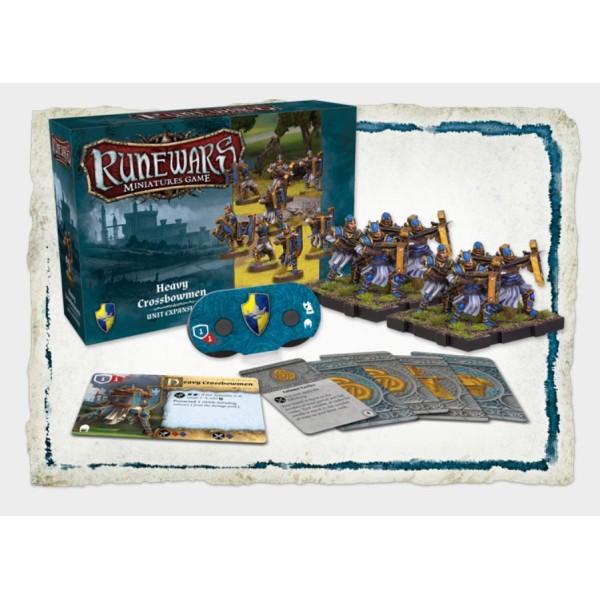 Runewars Miniatures -  Heavy Crossbowmen Expansion Pack