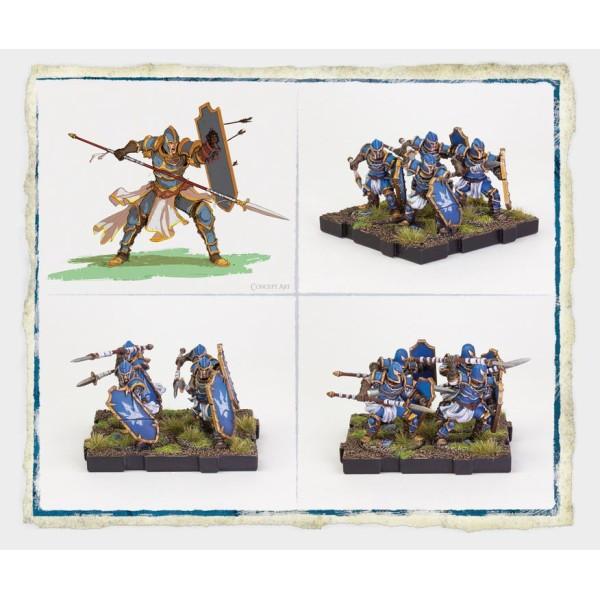 Runewars Miniatures - Spearmen Expansion Pack
