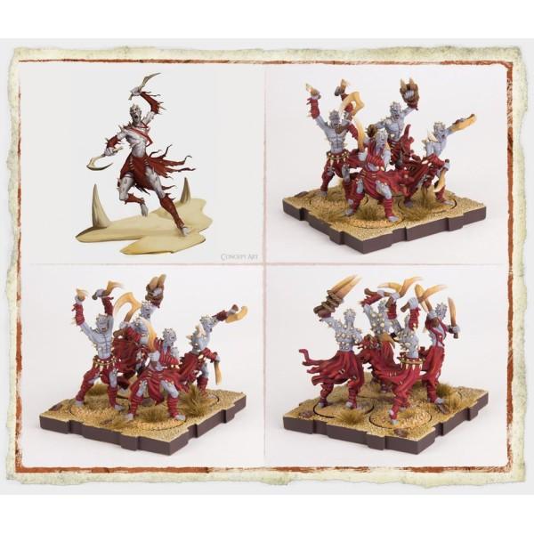 Runewars Miniatures - Uthuk Y'llan Berserkers Unit Expansion