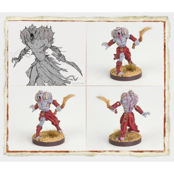 Runewars Miniatures - Uthuk Y'llan Infantry Command