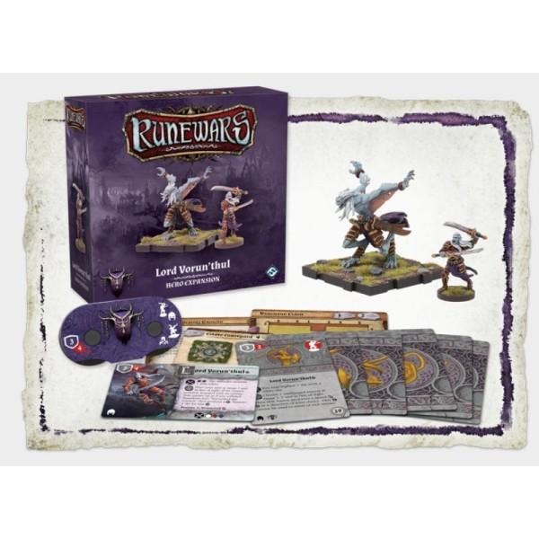 Runewars Miniatures - Lord Vorun'thul Hero Expansion Pack