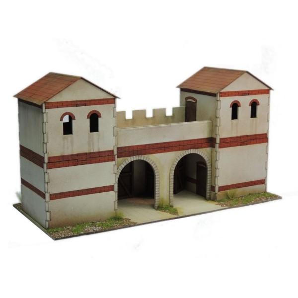Sarissa Precision Terrain - Streets of Rome - Town Wall Gate