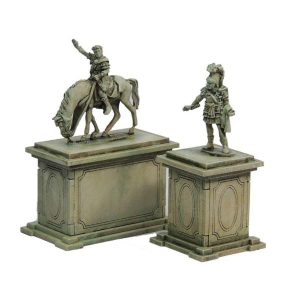Sarissa Precision Terrain - Streets of Rome - Statue Plinths