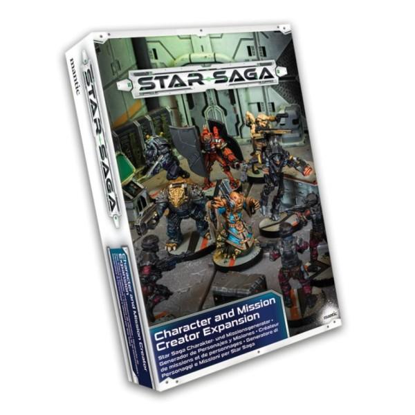 Star Saga - Character and Mission Creator