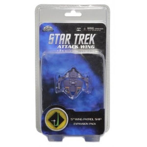 Star Trek - Attack Wing Miniatures Game - 5th Wing Patrol Ship