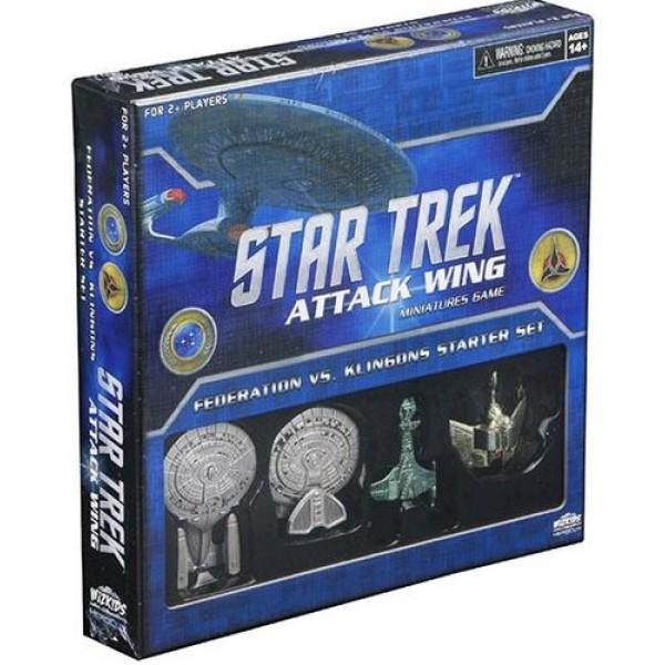 Star Trek - Attack Wing Miniatures Game - Federation vs Klingons Starter Set