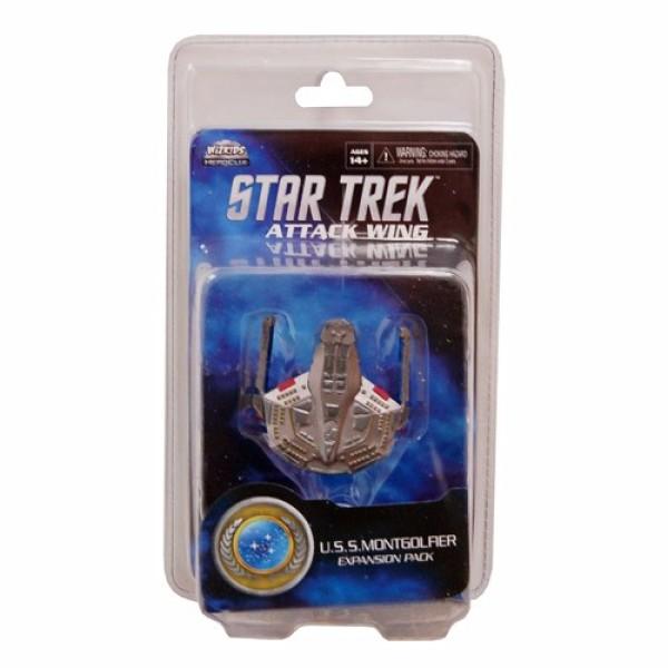 Star Trek - Attack Wing Miniatures Game - USS Montgolfier