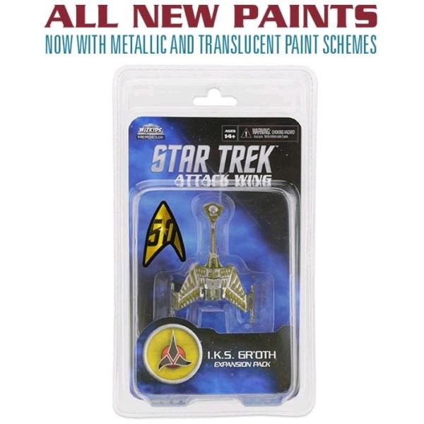 Star Trek - Attack Wing Miniatures Game - IKS Gr'oth - Wave 27