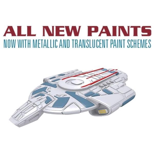 Star Trek - Attack Wing Miniatures Game - USS Defiant - Wave 28 (repaint)