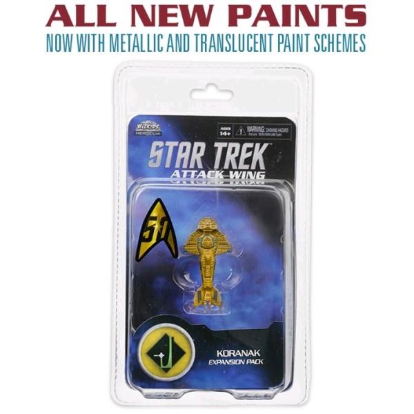 Star Trek - Attack Wing Miniatures Game - Wave 26 Koranak Expansion Pack