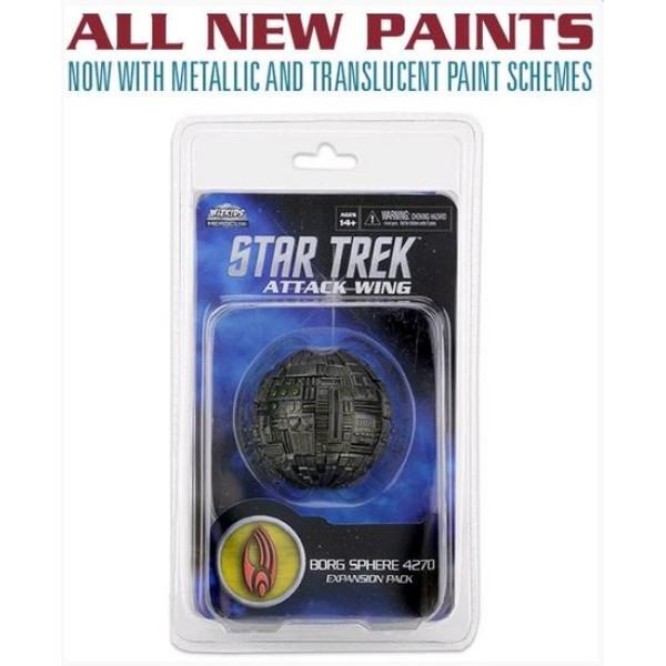 Star Trek - Attack Wing Miniatures Game - Borg Sphere 4270 - Wave 28 (Repaint)