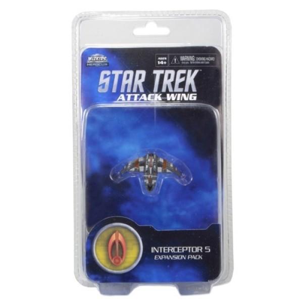 Star Trek - Attack Wing Miniatures Game - Interceptor Five Bajoran
