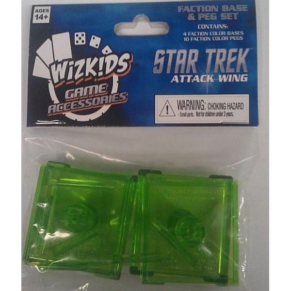 Star Trek - Attack Wing Miniatures Game - Romulan Base Pack (Green)