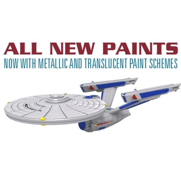 Star Trek - Attack Wing Miniatures Game - Wave 31 USS Enterprise Expansion Pack