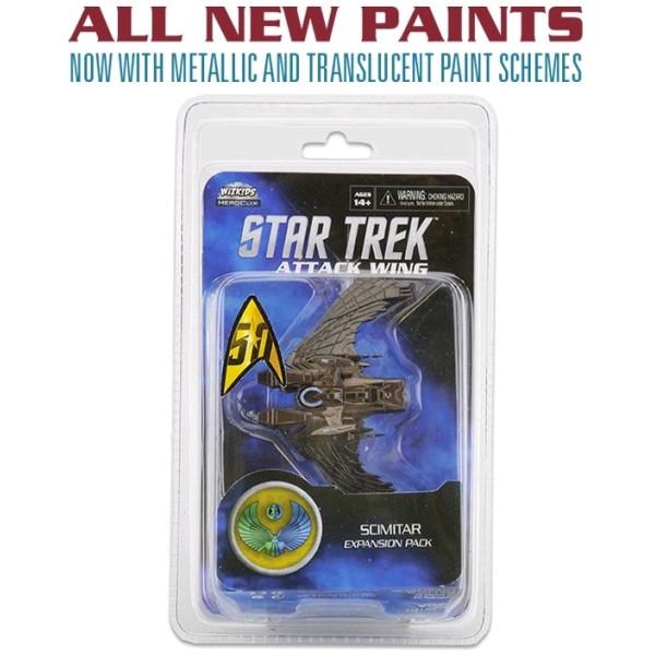 Star Trek - Attack Wing Miniatures Game - Scimitar - Wave 25 (Repaint)