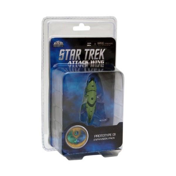 Star Trek - Attack Wing Miniatures Game - Prototype 01 Romulan Drone