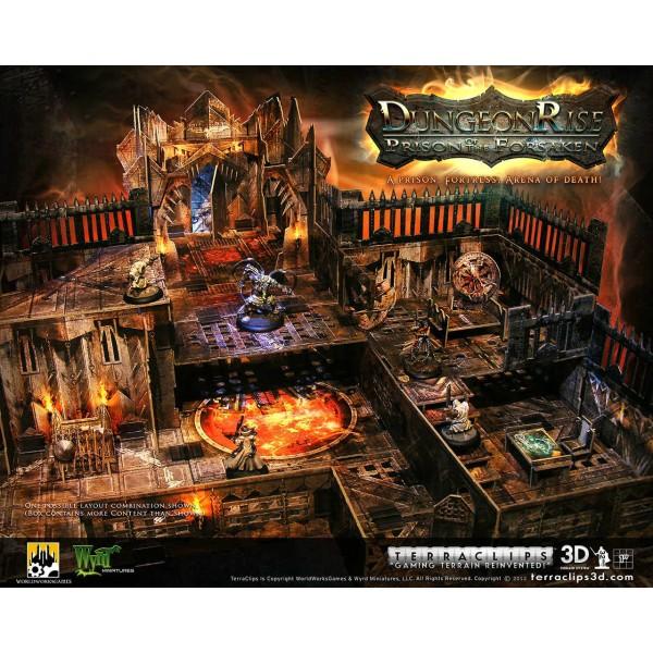 Terraclips - Dungeon Rise: Prison of the forsaken