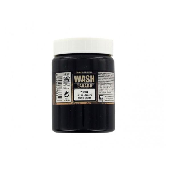Vallejo - Black Dipping Wash - 200ml
