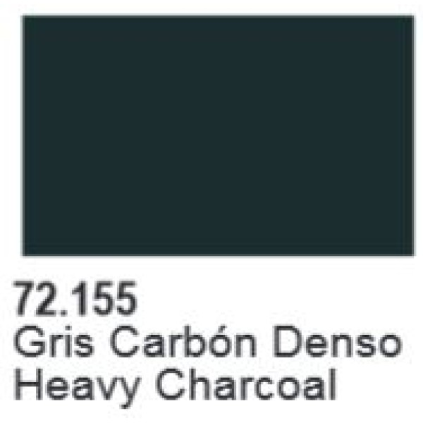 Vallejo - Game Color - Heavy Opaques - Heavy Charcoal