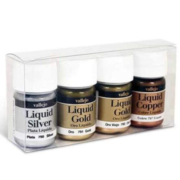 Vallejo Liquid Gold Set (4 x 35ml)
