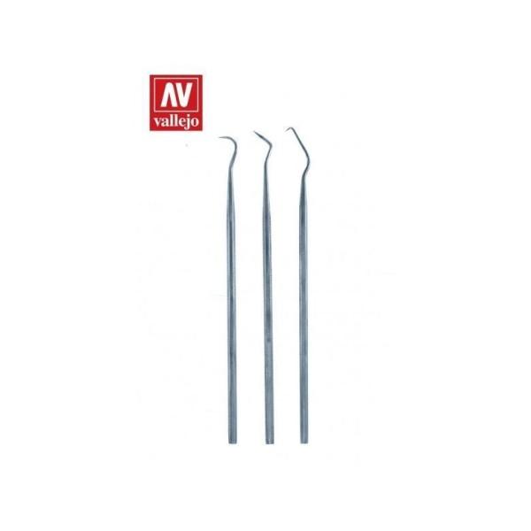 Vallejo - Tools - Set of 3 s/s Probes