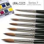 Winsor and Newton - Series 7 Kolinsky Sable Brushes