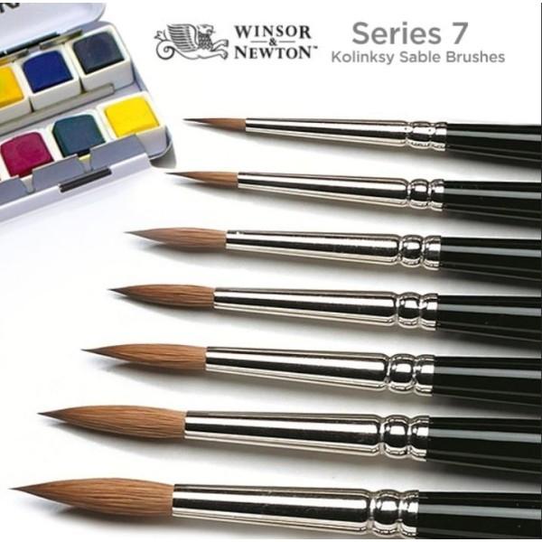Winsor and Newton - Series 7 Kolinsky Sable - Size 2/0