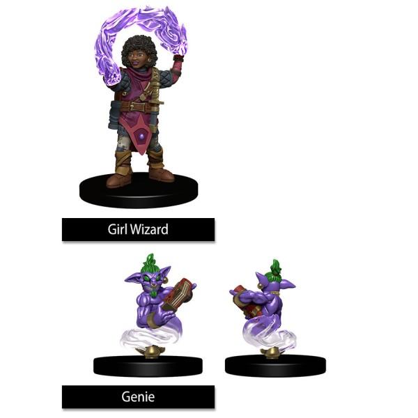 Wizkids - Wardlings - Girl Wizard & Genie